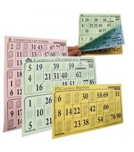 100 blocs de tickets BINGO