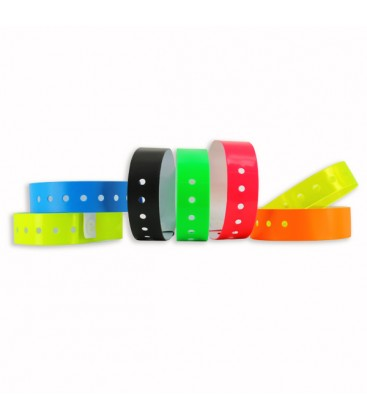 100 bracelets LASER larges vierges - Turquoise