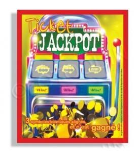 Cartes à gratter jackpot perdu