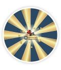 Roue de loterie personnalisée 90 cm