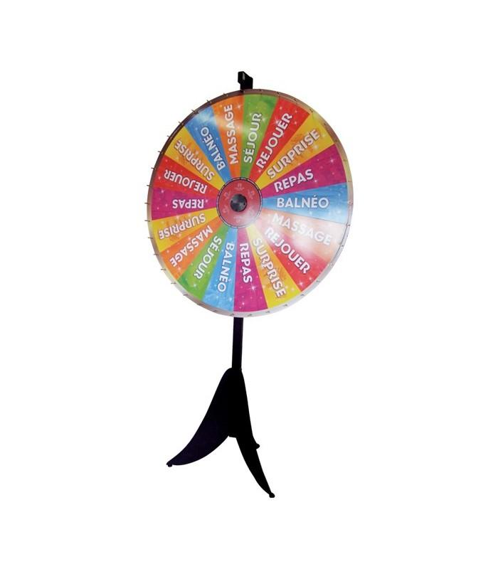 Gut bekannt Roue de loterie personnalisée 90/127 cm MH27