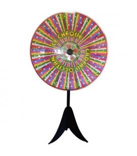 Roue de loterie à balle mobile personnalisée 127 cm