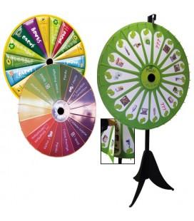 Roue de loterie magnétique personnalisée 90/127 cm