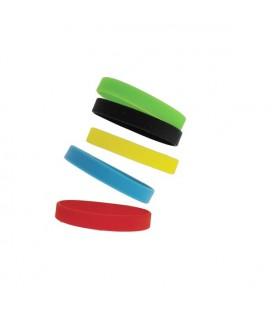 10 Bracelets événementiels SILICONE vierges