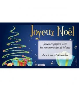 Tickets numérotés Tirage au sort JOYEUX NOËL