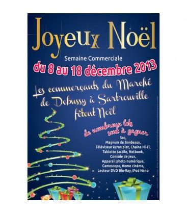Affiches personnalisées JOYEUX NOËL
