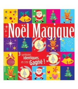100 tickets à gratter NOËL MAGIQUE gagnants