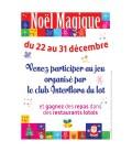 25 affiches personnalisées NOËL MAGIQUE