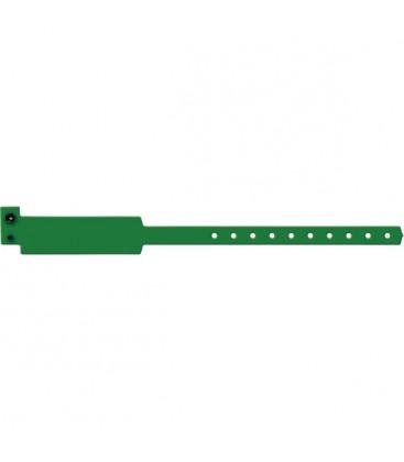100 bracelets Standard larges vierges - Rose framboise