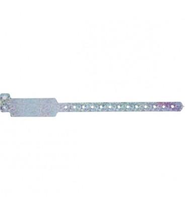 100 bracelets LASER larges vierges - Vert