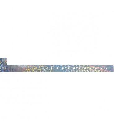 100 bracelets LASER minces vierges - Vert