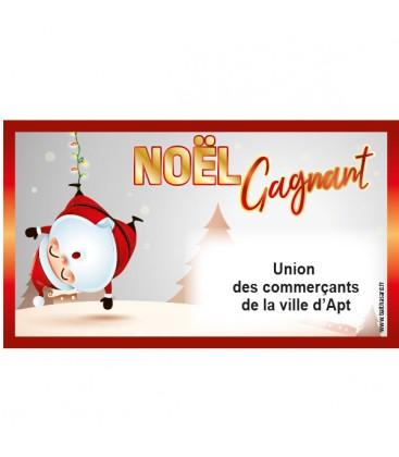 1.000 tickets numérotés NOEL GAGNANT