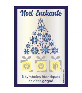Carte à gratter fêtes de fin d'année perdu